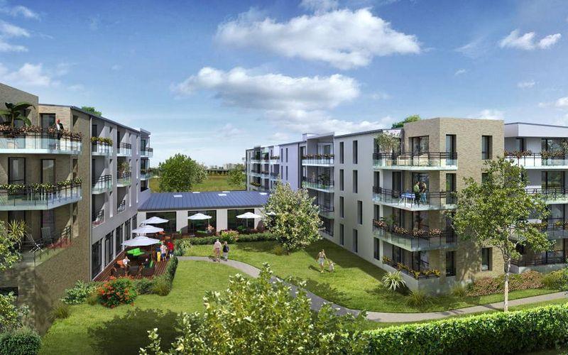 Résidence Séniors - Immobilier Neuf à Reims à prix Promoteur