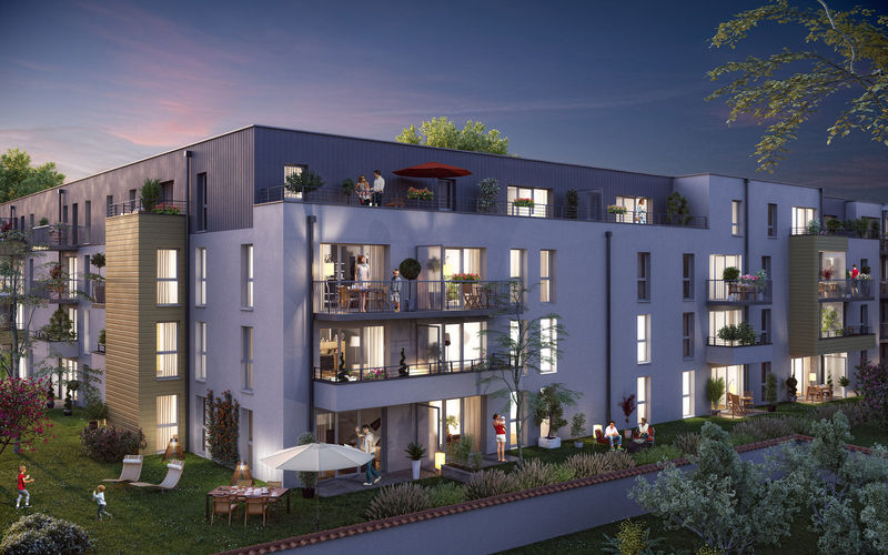Capucins-Venise - Immobilier Neuf à Reims à prix Promoteur