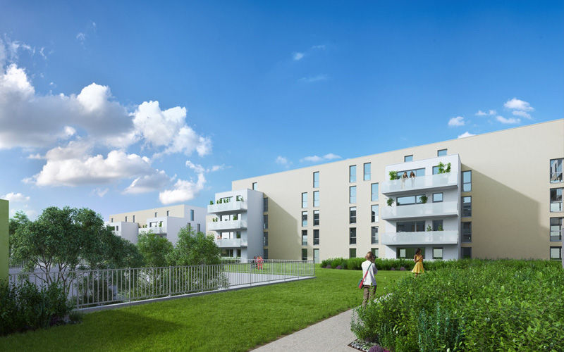 Avenue de Laon - St Thomas - Immobilier Neuf à Reims à prix Promoteur